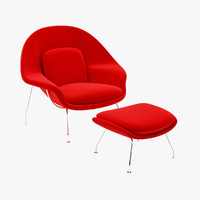 Womb Chair & Ottoman